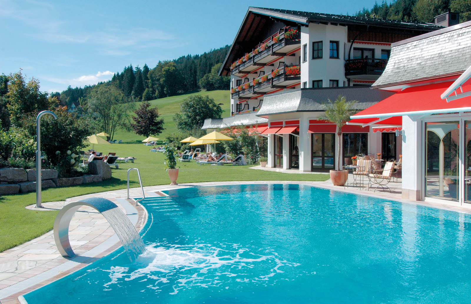 Aussenpool - Hotel Engel, Baierbronn / Obertal