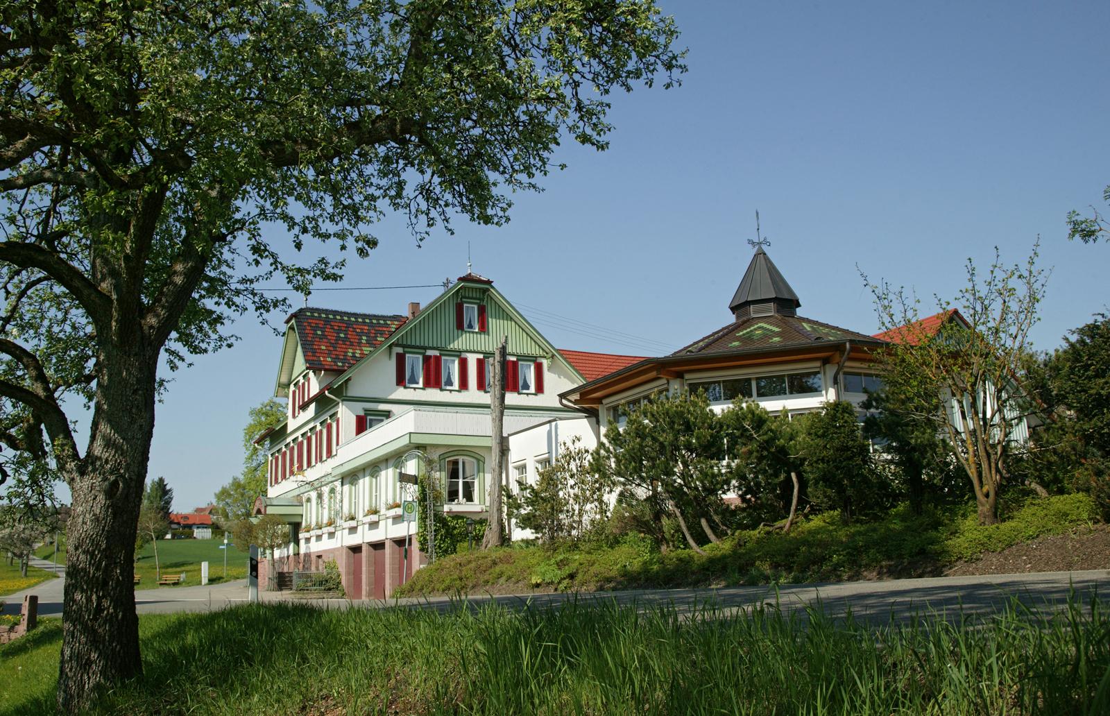 Aussenansicht - Landgasthof-Hotel Hirsch Altensteig/Überberg