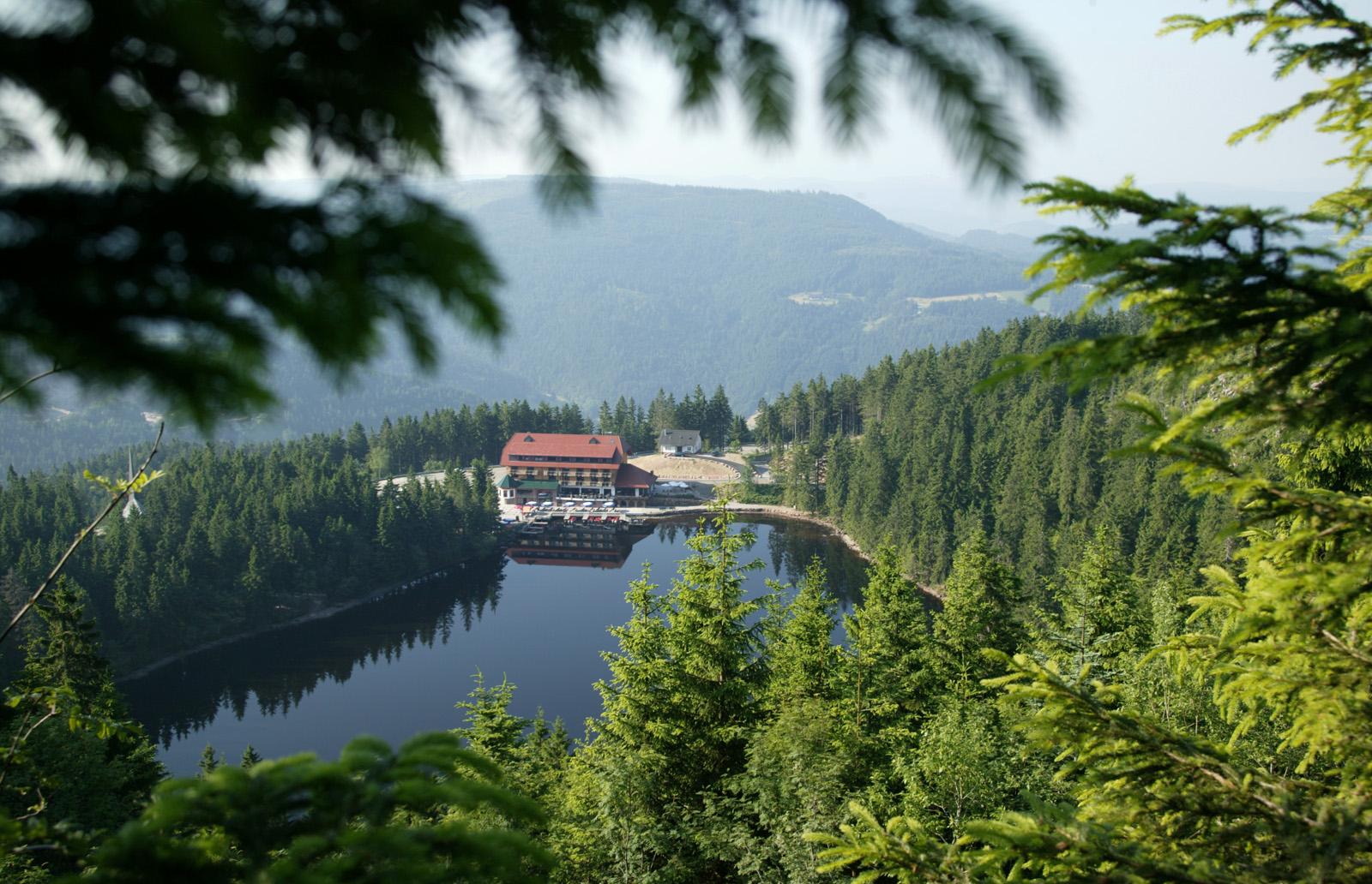 Aussenansicht - Berghotel Mummelsee