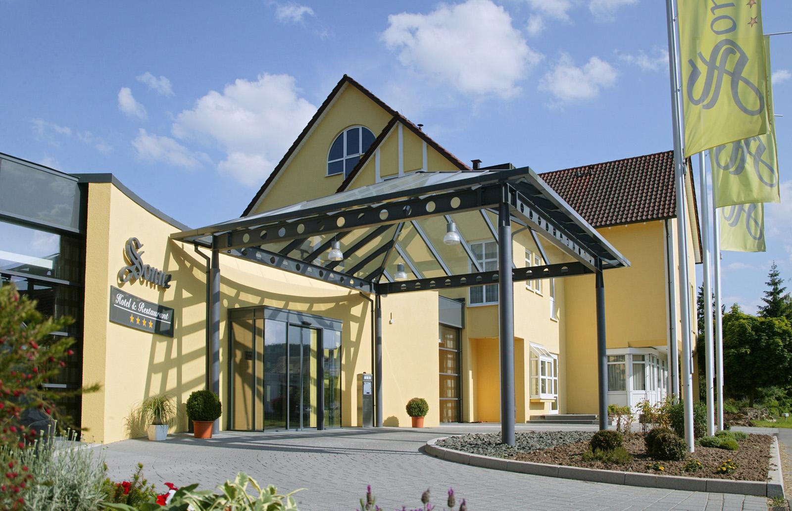 Aussenaufnahme - Hotel Sonne, Rudersberg/schlechtbach