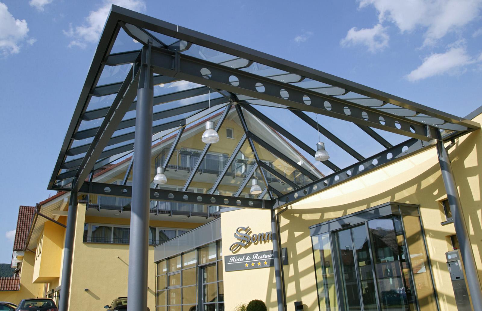 Architektur-Detail - Hotel Sonne, Rudersberg/schlechtbach