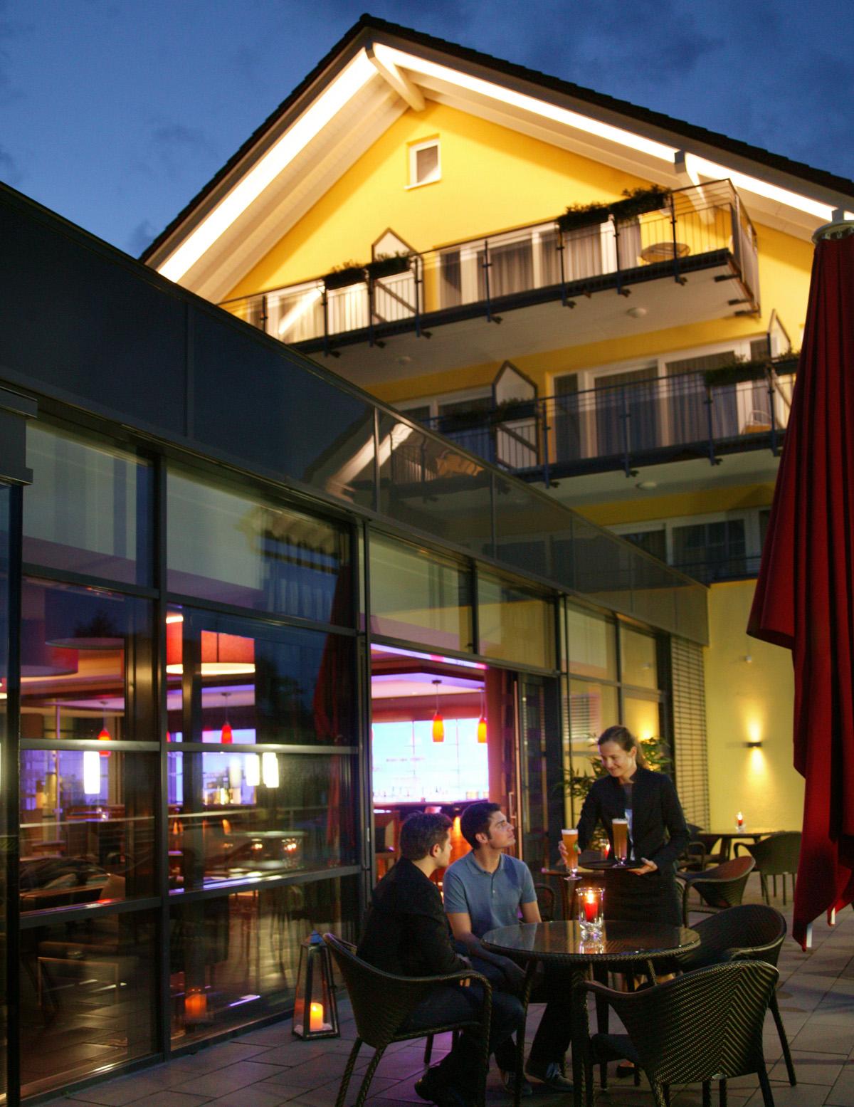 Terrasse - Hotel Sonne, Rudersberg/schlechtbach