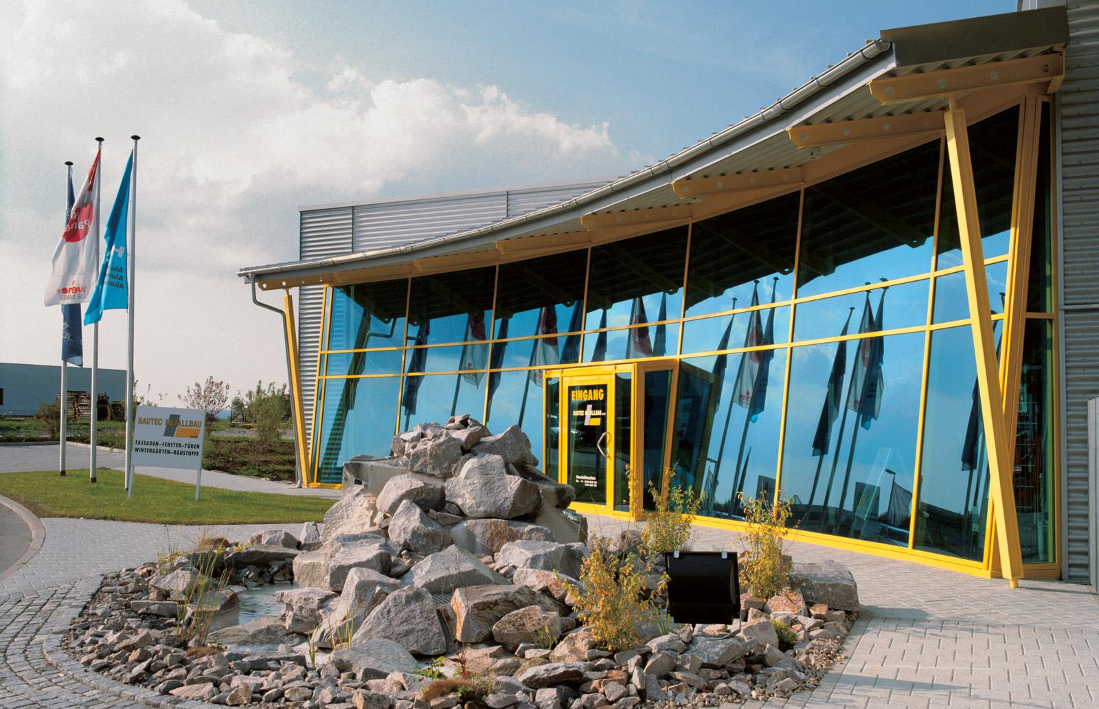 Eingang - Bautec Metallbau GmbH, Waldachtal