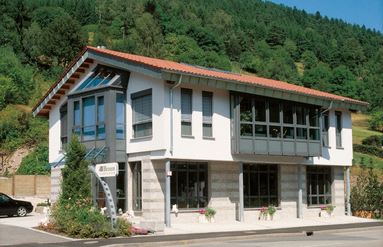 Aussenansicht - Gerhard Braun GmbH & Co. KG, Baiersbronn