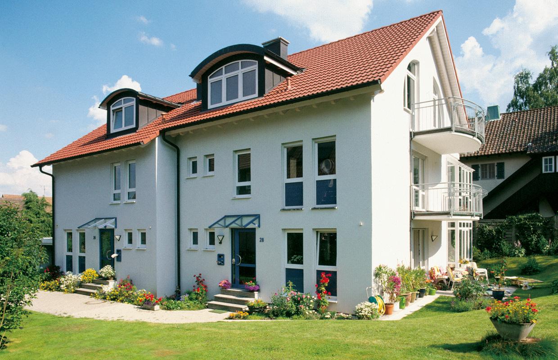 Gesamtansicht - Doppelhaus, Freudenstadt