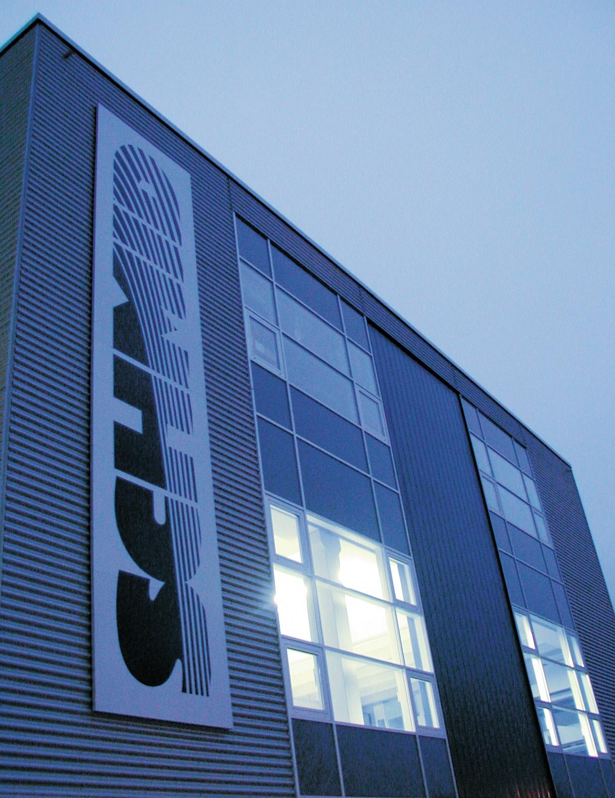 Detail des Produktionsgebäudes - Gebr. Schmid GmbH, Freudenstadt